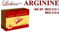 Viên nang mềm Lichine - ARGININE - Hộp 60 viên- Giải độc gan, bảo vệ gan, tăng cường chức năng gan