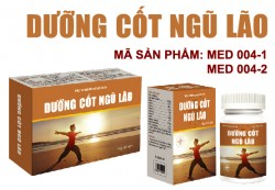 DƯỠNG CỐT NGŨ LÃO - Hộp 60 viên- Bổ sung calci, hỗ trợ điều trị loãng xương