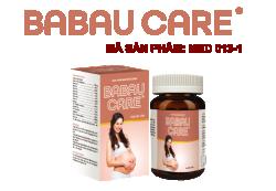 BABAUCARE - bổ sung dinh dưỡng cho bà bầu