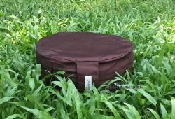 Bồ đoàn, đệm, thảm, gối ngồi thiền ngồi thiền trụ tròn nhỏ 27x10 ruột vỏ đậu xanh