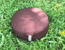 Bồ đoàn (gối, đệm) ngồi thiền ruột vỏ đậu xanh ZAMBALA (30x13cm)