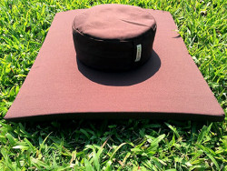 Bộ phổ thông: Cả bộ bồ đoàn tọa cụ ngồi thiền vải thô phù hợp với đạo tràng và chùa