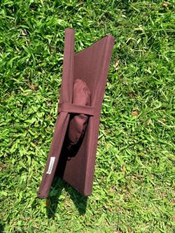 Bộ xách tay bồ đoàn tọa cụ gấp đôi nhỏ gọn rất tiện để mang đi xa