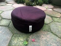 Bồ đoàn, đệm ngồi thiền vải thô nâu 30x8 cm loại phổ thông giá 180k
