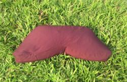Bồ đoàn - thảm - gối - đệm ngồi thiền chữ V ruột vỏ đậu xanh ZAMBALA