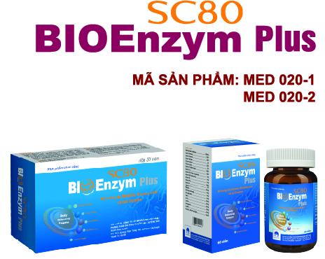 SC80 Bioenzym Plus- tăng cường miễn dịch, ă ngon, chống rối loạn tiêu hóa