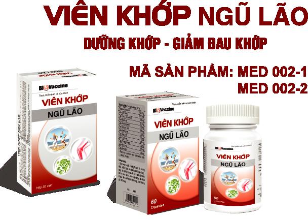 VIÊN KHỚP NGŨ LÃO - Hộp 30 viên - dưỡng khớp - giảm đau xương khớp