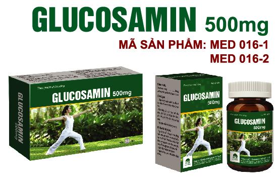 GLUCOSAMIN 500mg - Lọ 30 viên- Hỗ trợ điều trị các bệnh về xương khớp